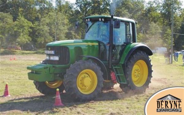 Traktoros ügyességi verseny Karcagon