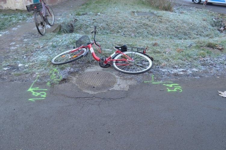 Úgy tűnik, ezúttal megúszta a kerékpáros
